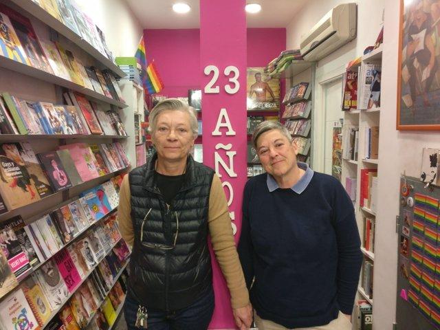 Fundadoras de la librería Berkana