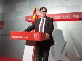 Patxi López visitará Catalunya en tres ocasiones más y coincidirá con Pedro Sánchez el 22 de abril