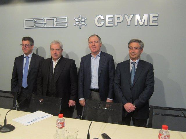 Lorenzo Vidal de la Peña, presidente de CEOE-Cepyme Cantabria