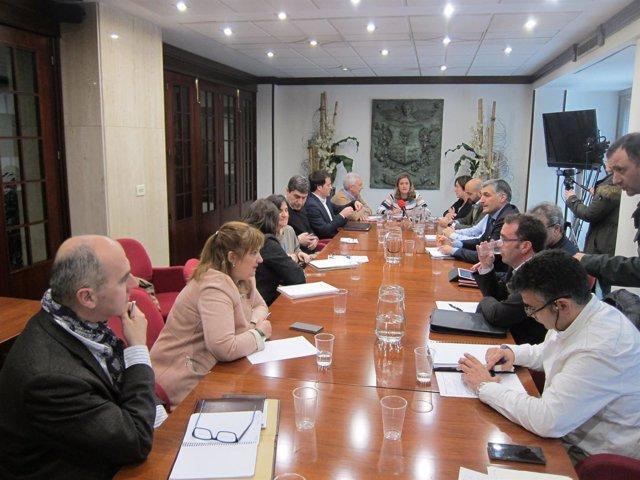 Reunión de alcaldes en Barakaldo
