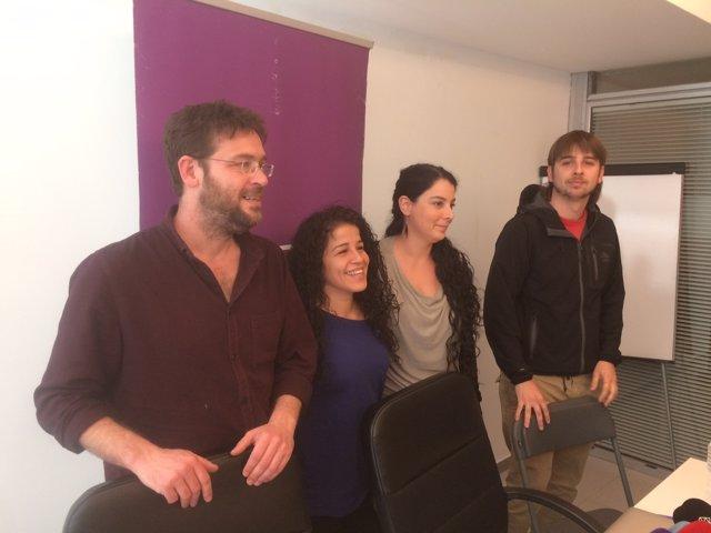 Albano-Dante Fachin, Joan Giner, Ruth Moreta, Laura Fava (Podem)
