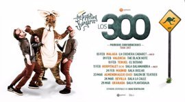 """El trío granadino """"Los 300"""" ofrecerá un concierto en Almendralejo (Badajoz)"""