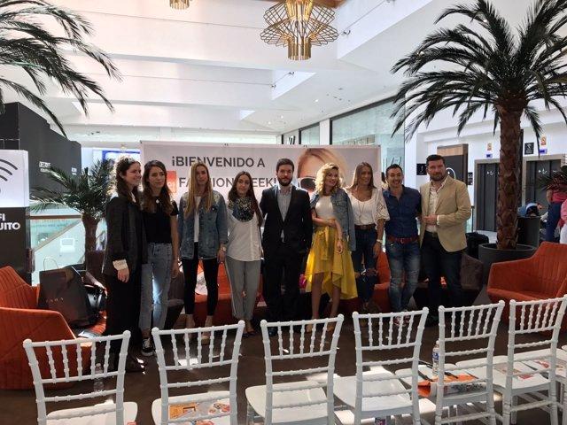 Los principales Influencers de Andalucía, en 'Los Arcos Fashion Week'.