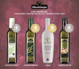 Oleoestepa, reconocido en los premios internacionales Los Agenesl Evoo Competition por su aceite de oliva