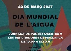 Catorce depuradoras de Baleares abren este miércoles sus puertas por el Día Mundial del Agua