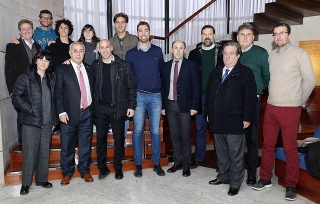 Asociaciones de deportistas apoyo Alejandro Blanco COE