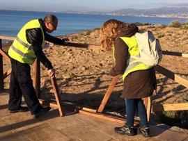 Una decena de parados de larga duración detectan más de 2.500 deficiencias en Palma a través del programa 'Visibles'