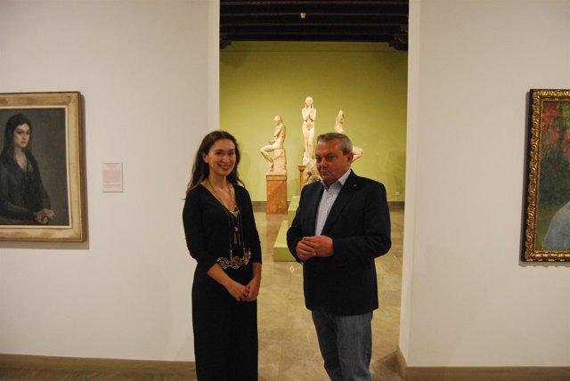 Ruiz y Alcalde en el Bellas Artes