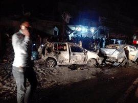 Al menos 23 muertos en un atentado con coche bomba en el sur de Bagdad