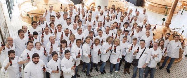 Participanets del certamen culinario