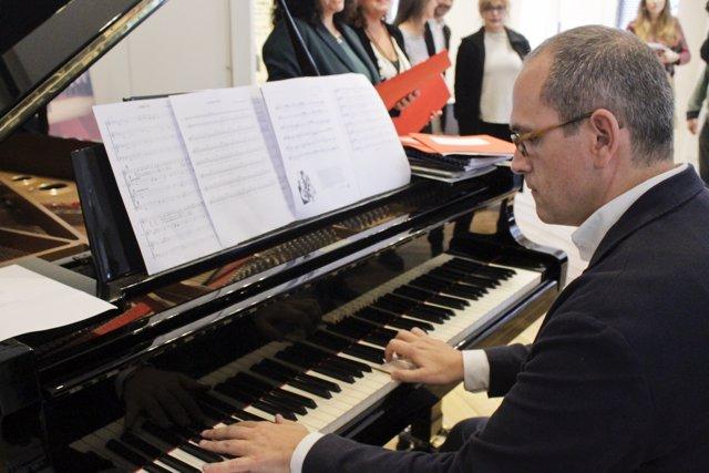 Iñigo Alberdi, nuevo director de la Semana de Música Antigua de Estella