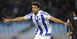 Xabi Prieto renueva con la Real Sociedad una temporada