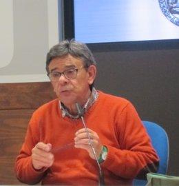 El Concejal De Cultura, Roberto Sánchez Ramos (IU).