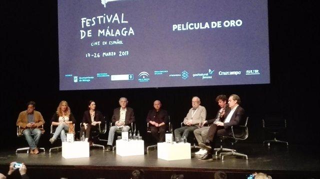 Acto por el aniversario del estreno de 'Belle Époque' en el Festival  de Málaga