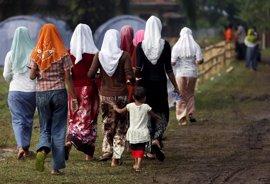 Cruz Roja pide ayuda urgente para los rohingyas ante la llegada de la temporada de ciclones