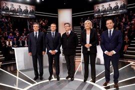 Emmanuel Macron, el candidato más convincente durante el debate presidencial de Francia
