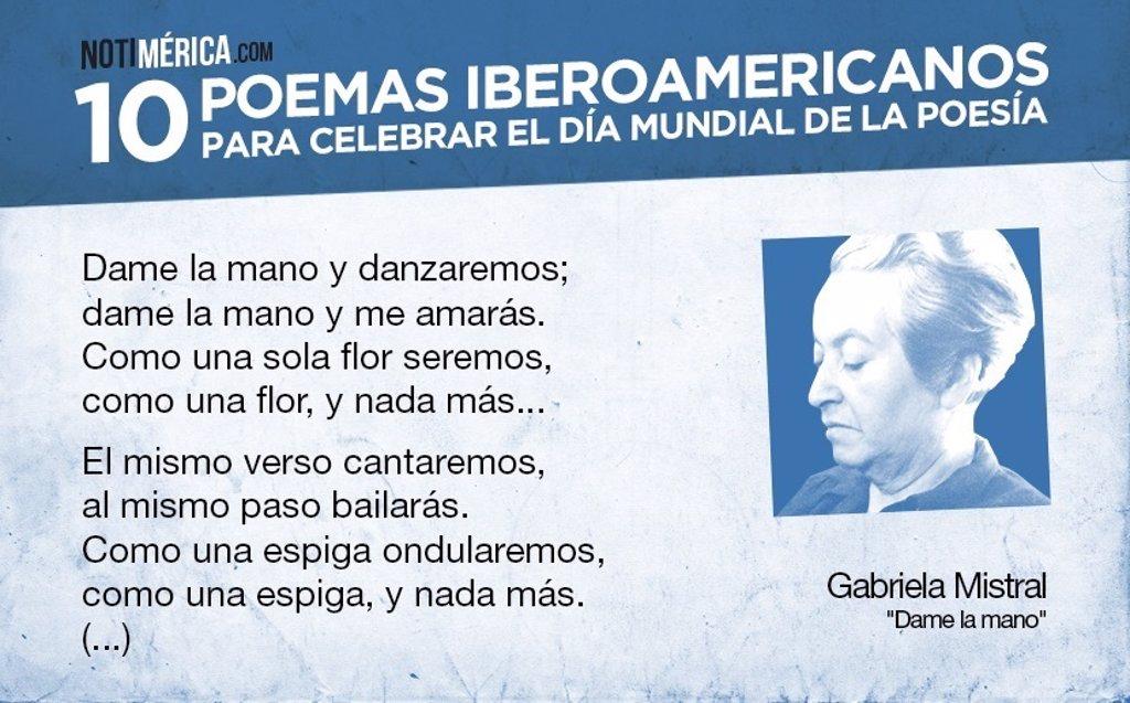 10 poemas iberoamericanos en el Día Mundial de la Poesía