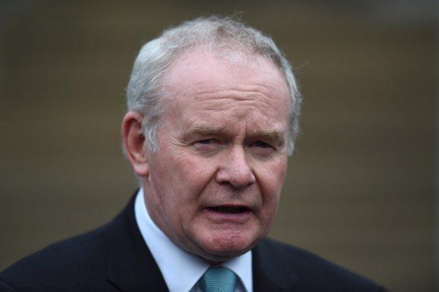 El viceministro principal de Irlanda del Norte, Martin McGuinness.