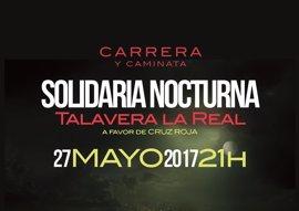 Una parte de la recaudación de la V Carrera y Caminata Nocturna de Talavera la Real (Badajoz) será destinada a Cruz Roja