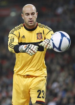El portero de la selección española Pepe Reina