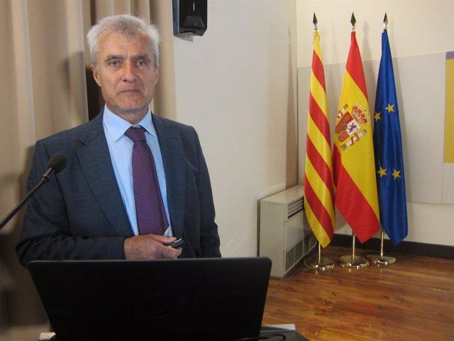 El delegado de Aemet en Catalunya, Antonio Conesa