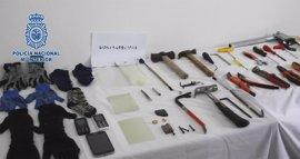 Cae una red criminal con 15 detenidos por robar presuntamente en viviendas