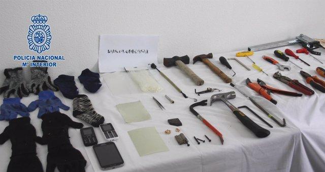 Desmantelado grupo criminal especializado en el robo en domicilio