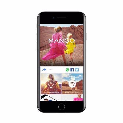 Los clientes de Mango podrán interactuar con la música de sus tiendas a través de Shazam