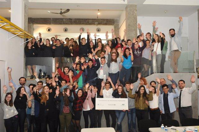 Participantes en el Campamento de Innovación de la AEB