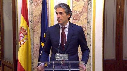 """De la Serna llama a la estiba a un acuerdo que """"libere"""" la reforma y evite la multa de la UE"""