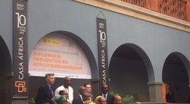 """Sáenz de Santamaría subraya que la diplomacia preventiva """"necesita tiempo y recursos"""" para evitar conflictos"""