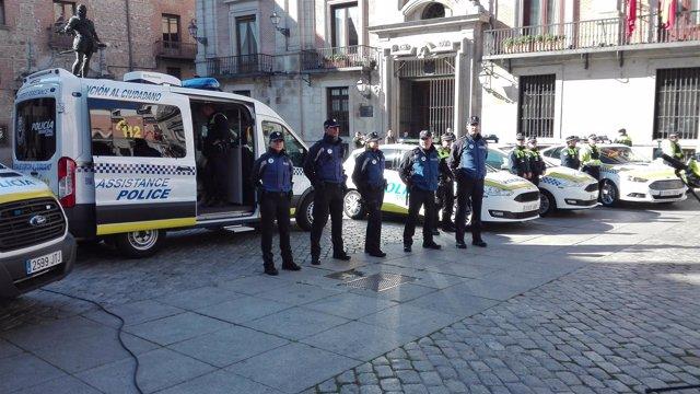 Nuevos uniformes de la Policía Municipal de Madrid