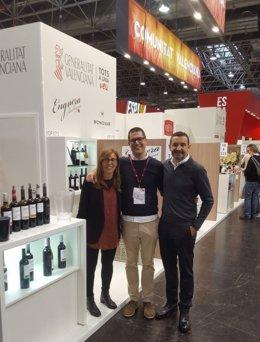 Los vinos valencianos se promocionan en la feria Prowein