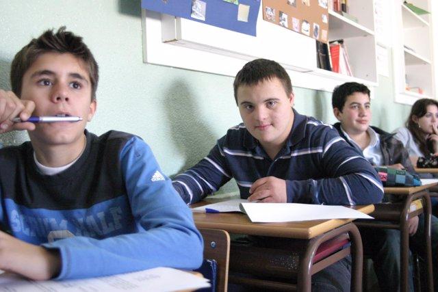 down españa. educación inclusiva