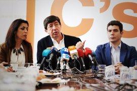 Marín (Cs) renunciaría a la Junta si fuera Susana Díaz y prefiere que sea ella quien gane las primarias del PSOE