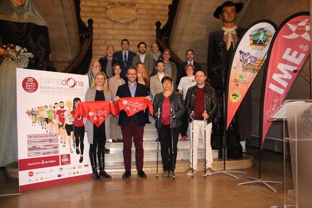 II Marxa per la Igualtat Nordic Walking de Palma