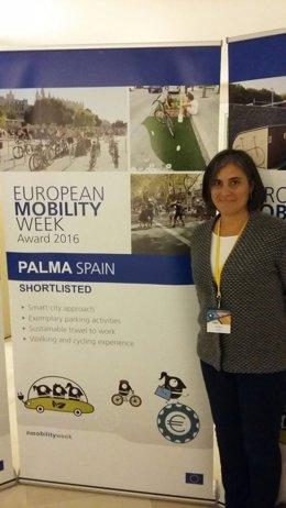 Palma, reconocida por su organización de la Semana europea de la Movilidad