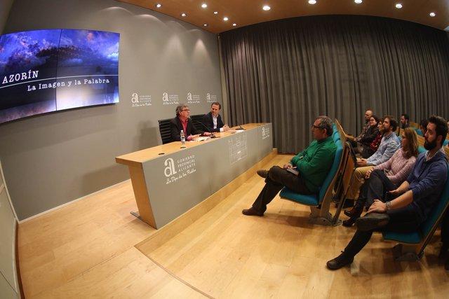 Presentación del documental sobre Azorín