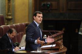 """Ciudadanos pide al PSOE que no bloquee los PGE porque los españoles """"no pueden esperar"""" a ver qué pasa en sus primarias"""