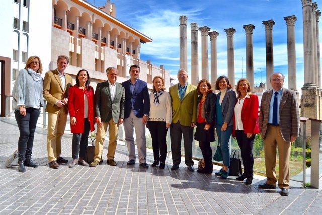 Concejales del PP en el Ayuntamiento de Córdoba
