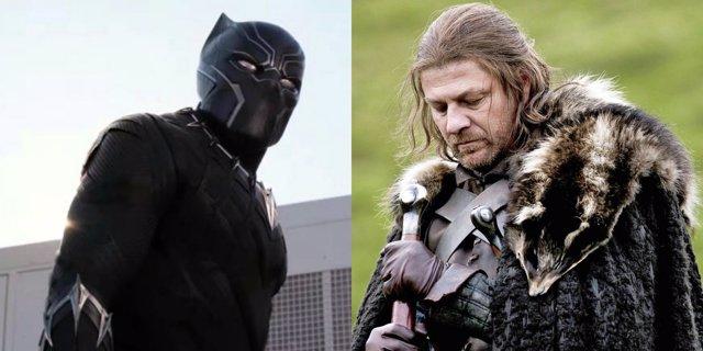 Balck OAnther y Ned Stark