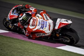 "Lorenzo: ""La Ducati se adapta bastante bien a Losail"""