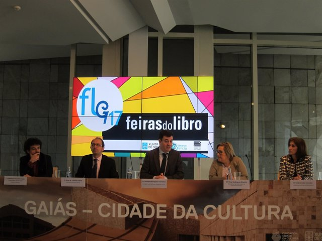 Presentación do calendario das Feiras do Libro 2017