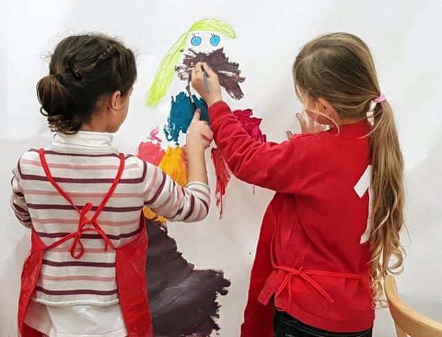 Talleres taller niño cultura arte Museo Picasso Málaga técnica pintura semana sa