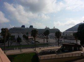 Puerto de Cartagena contribuye al crecimiento económico de la Región con un aumento del 4,7% del tráfico de contenedores