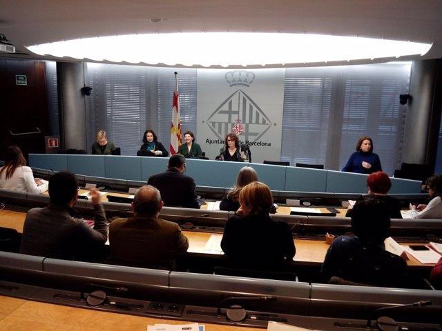 Comisión de Derechos Sociales, Cultura y Deporte de Barcelona