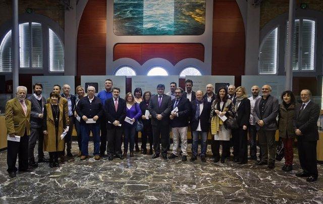 La comisión Puerto-Ciudad entrega subvenciones a entidades.