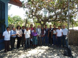 Laparra se reúne con la ministra de Salud Pública de Guatemala