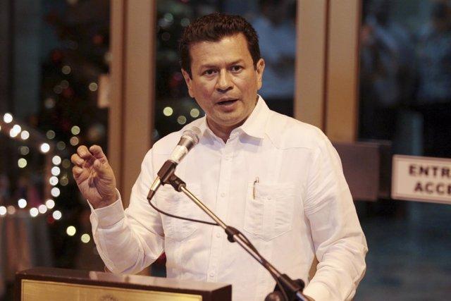 Hugo Martinez, ministro de Exteriores de El Salvador