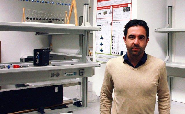 Iván Herrero, estudiante de doctorado en el campus de Gandia de la UPV